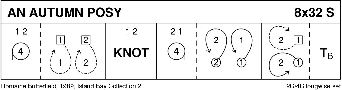 An Autumn Posy Keith Rose's Diagram