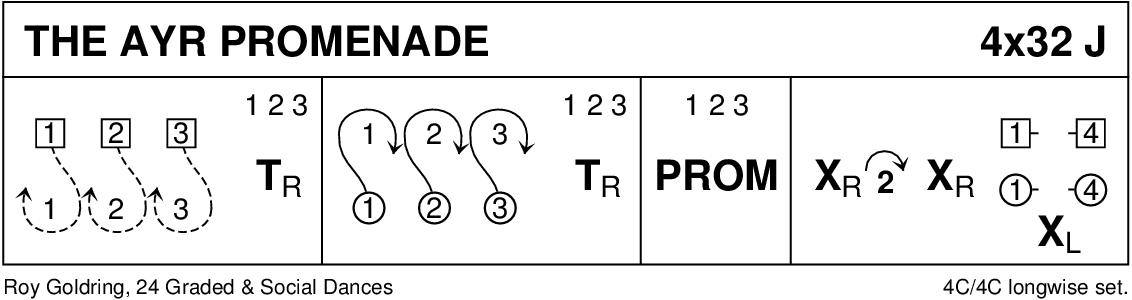 The Ayr Promenade Keith Rose's Diagram