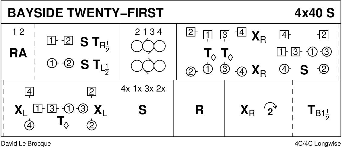 Bayside Twenty-First Keith Rose's Diagram