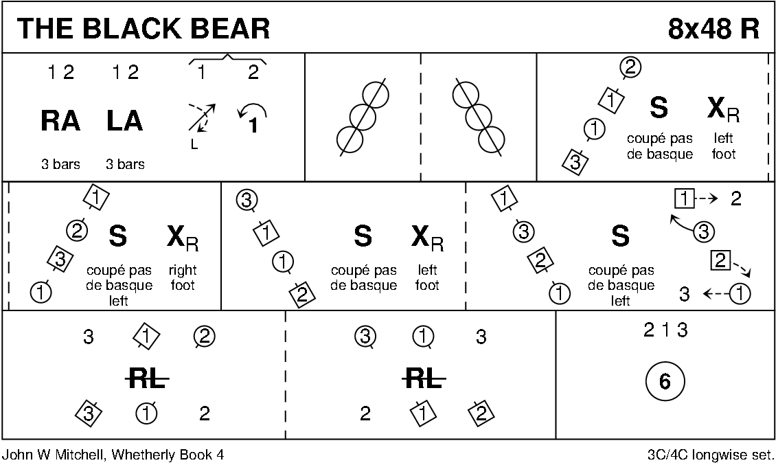 The Black Bear (Mitchell) Keith Rose's Diagram