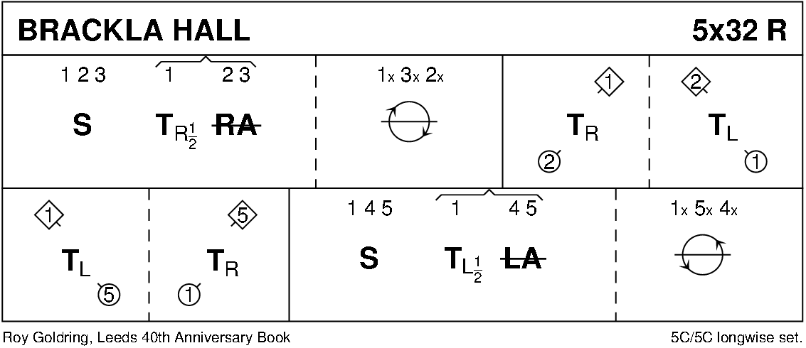 Brackla Hall Keith Rose's Diagram