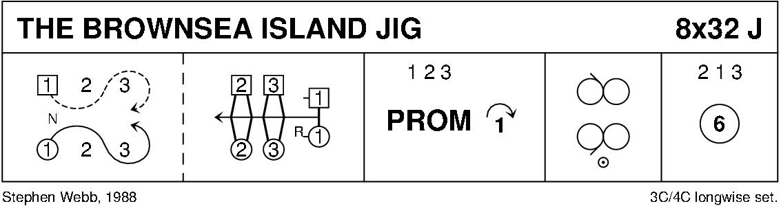 The Brownsea Island Jig Keith Rose's Diagram
