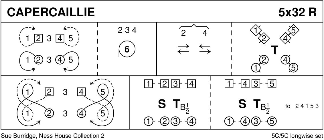 The Capercaillie (Burridge) Keith Rose's Diagram