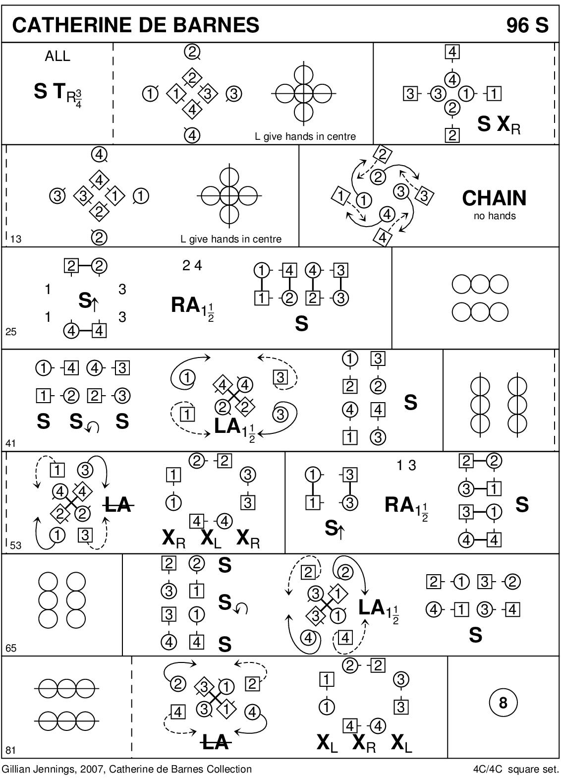 Catherine de Barnes Keith Rose's Diagram