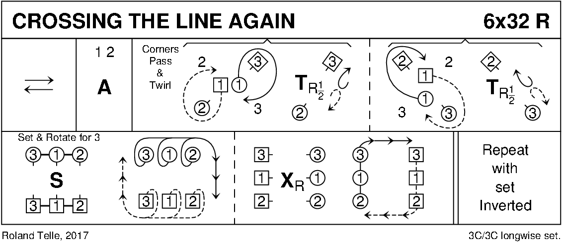 Crossing The Line Again Keith Rose's Diagram