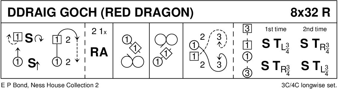 Ddraig Goch Keith Rose's Diagram