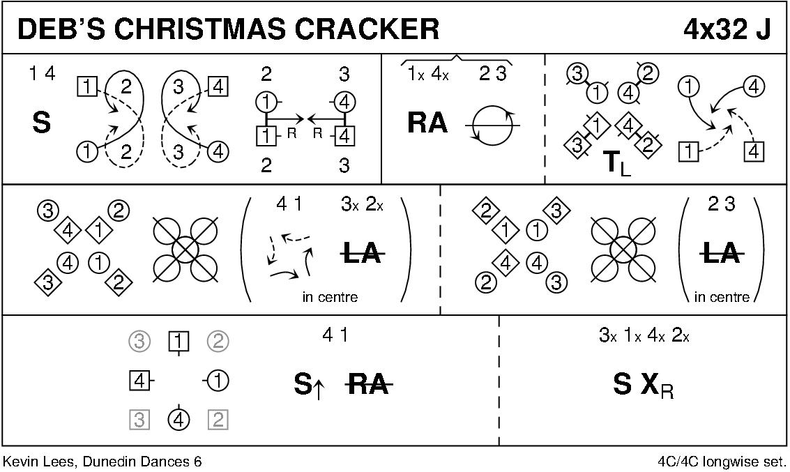 Deb's Christmas Cracker Keith Rose's Diagram