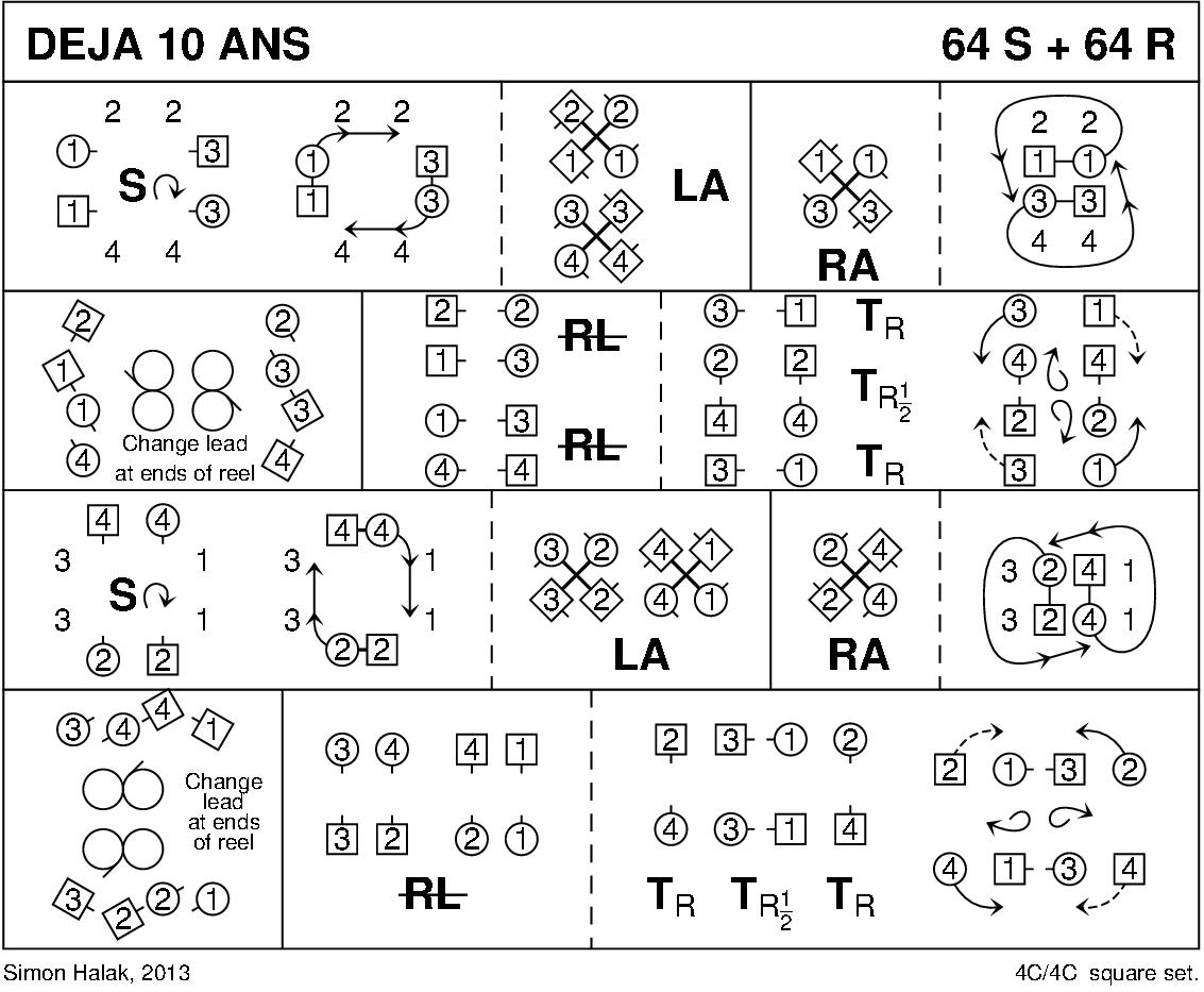 Déjà 10 ans Keith Rose's Diagram