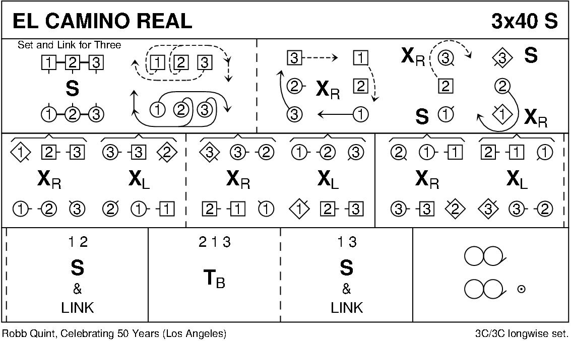 El Camino Real Keith Rose's Diagram
