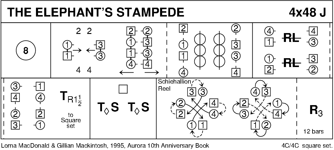 The Elephant's Stampede Keith Rose's Diagram