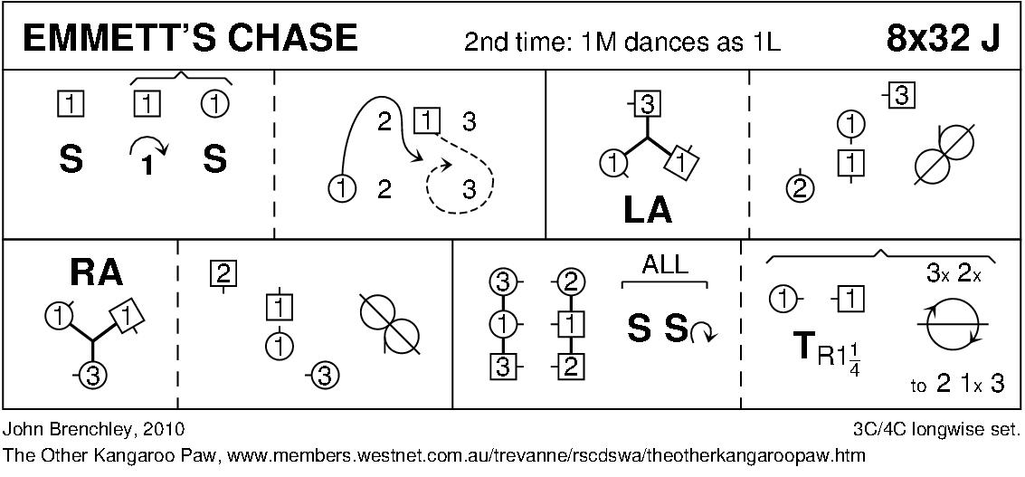 Emmett's Chase Keith Rose's Diagram