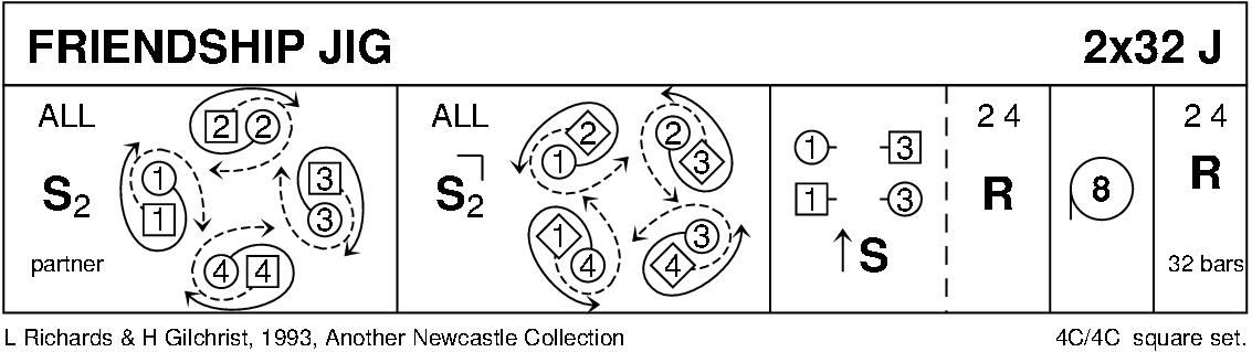 Friendship Jig Keith Rose's Diagram