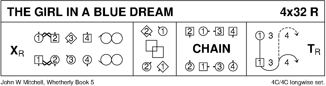 The Girl In A Blue Dream Keith Rose's Diagram