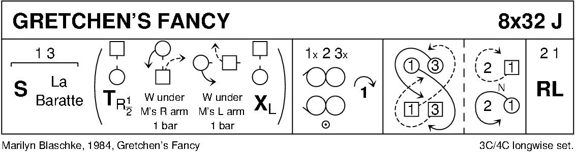 Gretchen's Fancy Keith Rose's Diagram