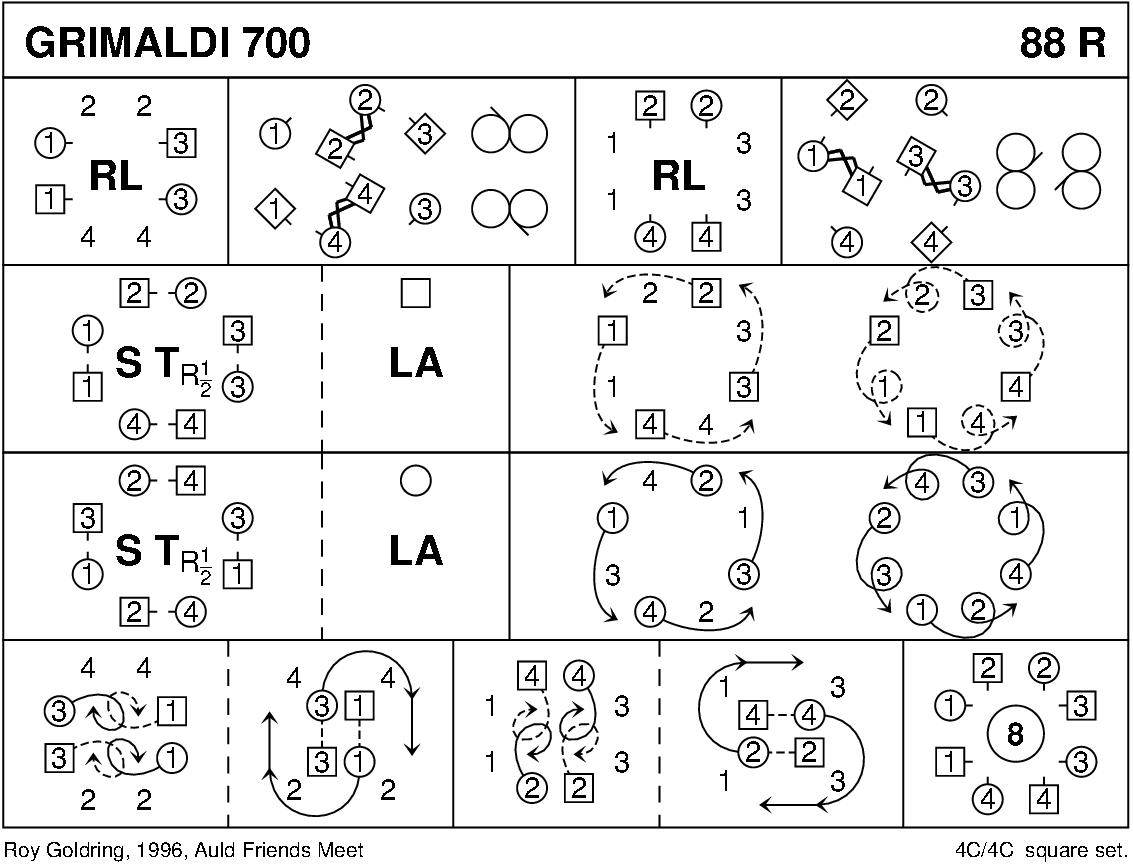 Grimaldi 700 Keith Rose's Diagram