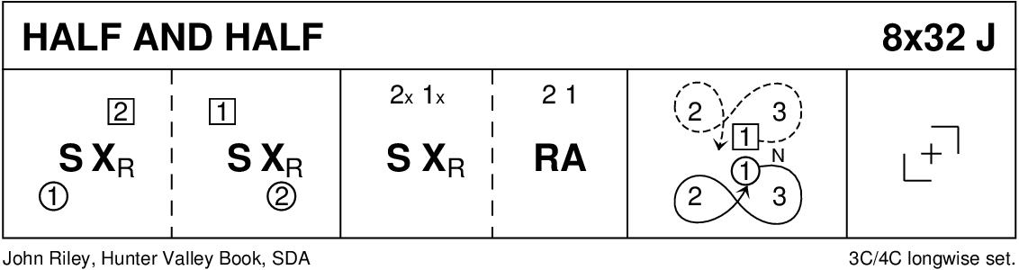 Half And Half (Riley) Keith Rose's Diagram