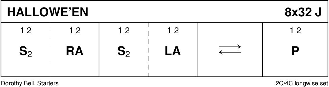 Hallowe'en (Bell) Keith Rose's Diagram