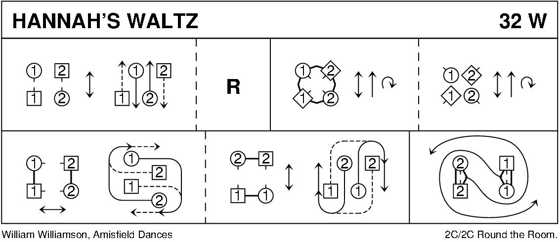 Hannah's Waltz Keith Rose's Diagram