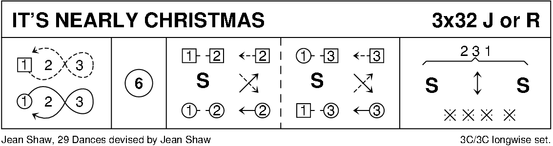 It's Nearly Christmas (3-Couple Version) Keith Rose's Diagram