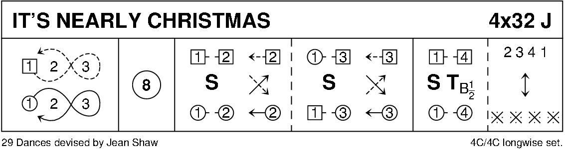 It's Nearly Christmas (4-Couple Version) Keith Rose's Diagram
