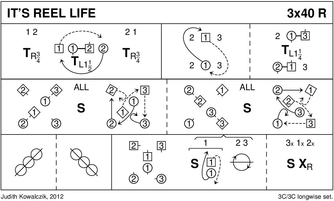 It's Reel Life Keith Rose's Diagram