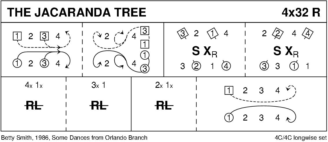 The Jacaranda Tree Keith Rose's Diagram