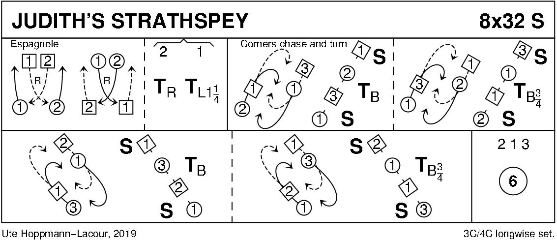 Judith's Strathspey Keith Rose's Diagram