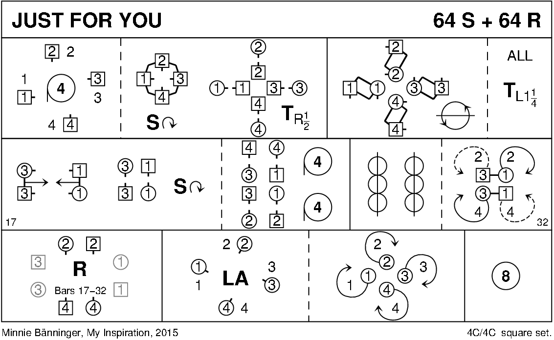 Just For You (Bänninger) Keith Rose's Diagram