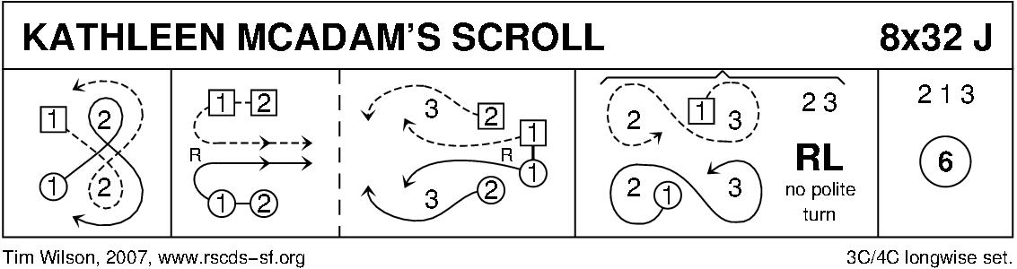 Kathleen McAdam's Scroll Keith Rose's Diagram