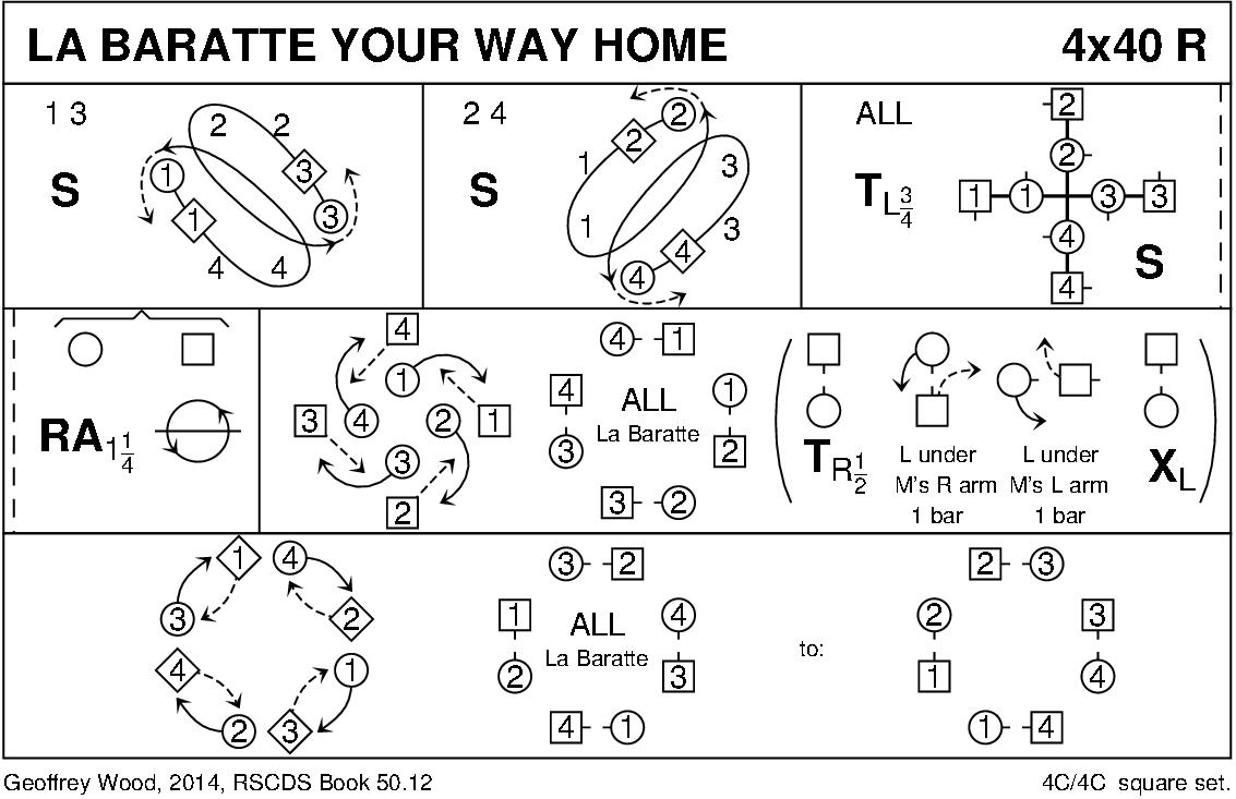 La Baratte Your Way Home Keith Rose's Diagram