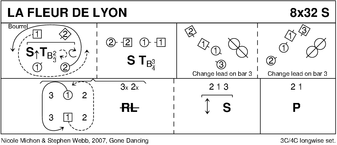 La Fleur De Lyon Keith Rose's Diagram