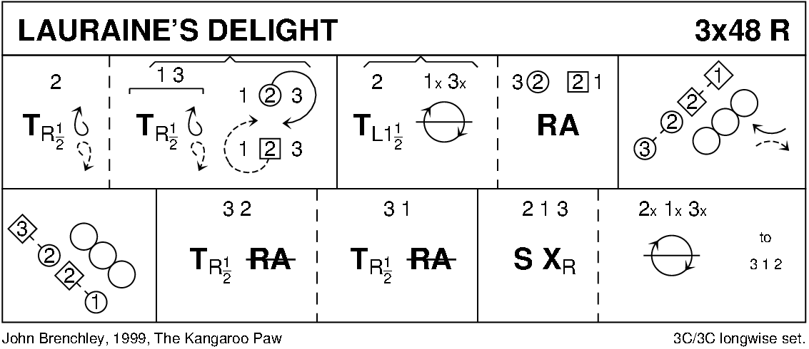 Lauraine's Delight Keith Rose's Diagram