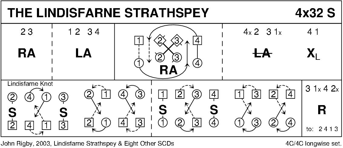 The Lindisfarne Strathspey Keith Rose's Diagram