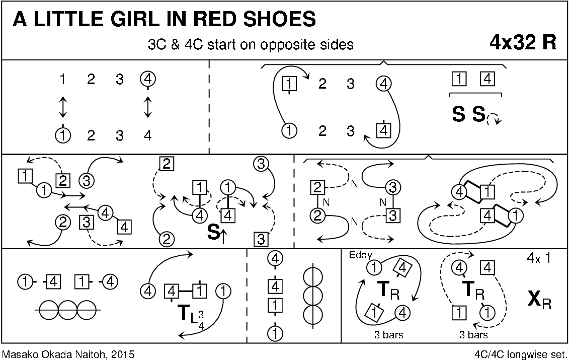 A Little Girl In Red Shoes Keith Rose's Diagram