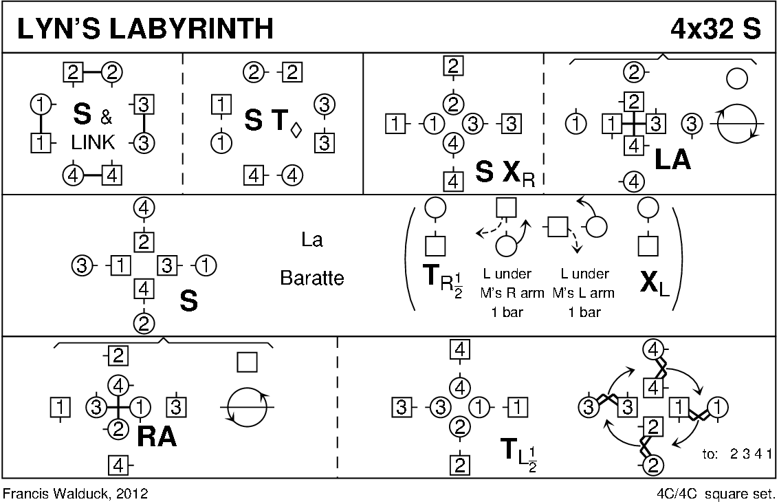 Lyn's Labyrinth Keith Rose's Diagram