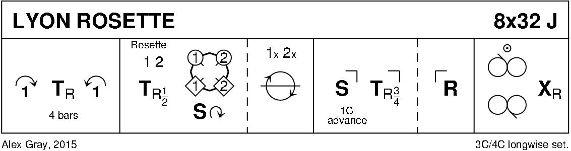 Lyon Rosette Keith Rose's Diagram