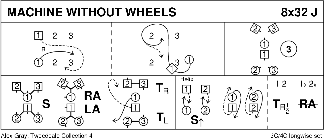 Machine Without Wheels Keith Rose's Diagram