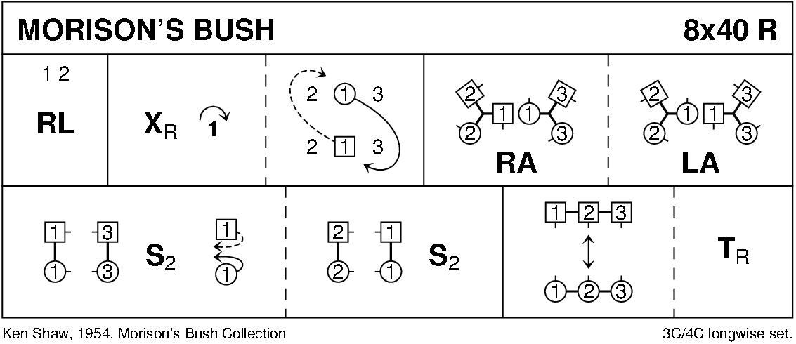 Morison's Bush Keith Rose's Diagram