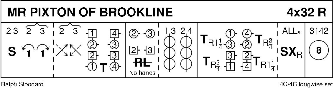 Mr Pixton Of Brookline Keith Rose's Diagram