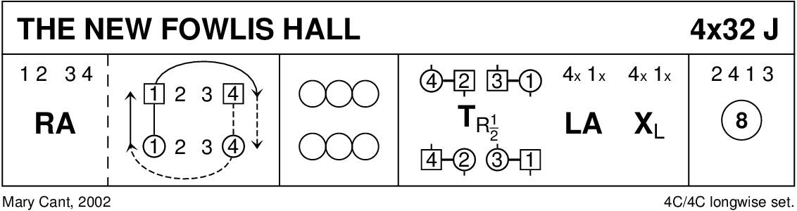 The New Fowlis Hall Keith Rose's Diagram