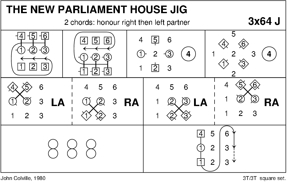 The New Parliament House Jig Keith Rose's Diagram