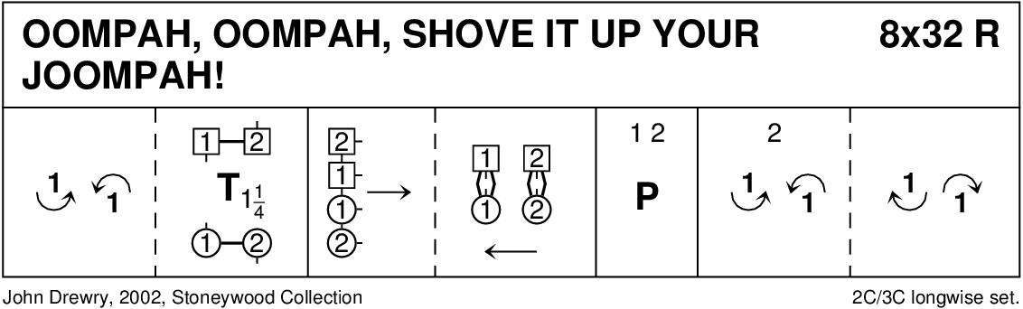Oompah, Oompah, Shove It Up Your Joompah! Keith Rose's Diagram