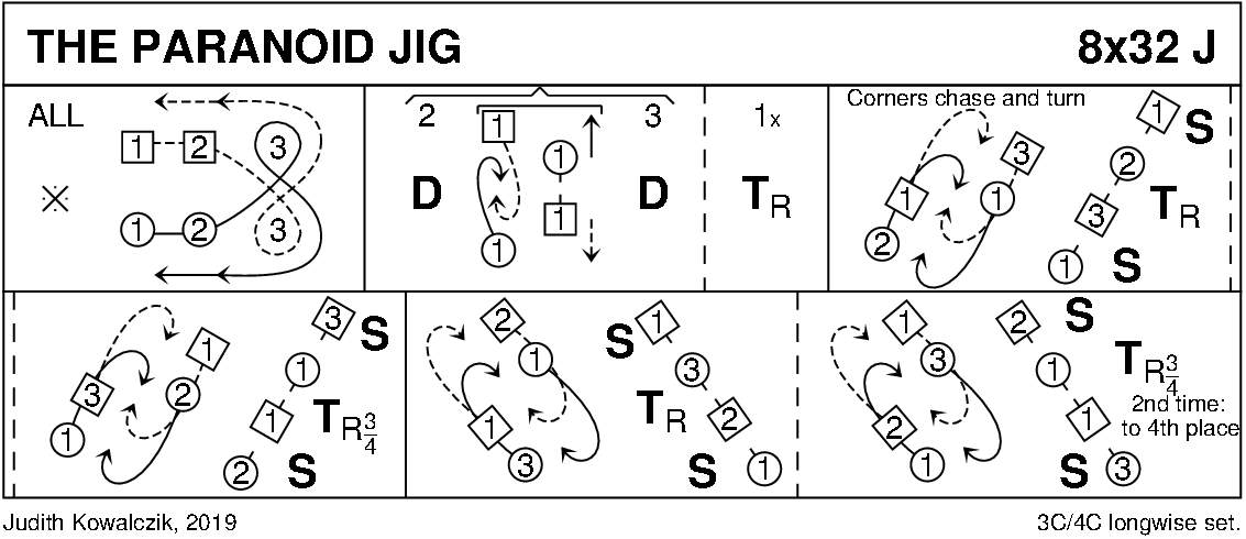 The Paranoid Jig Keith Rose's Diagram