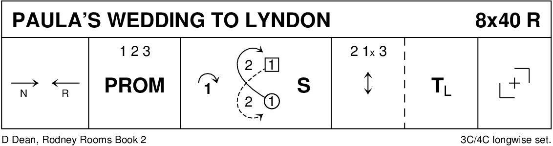 Paula's Wedding To Lyndon Keith Rose's Diagram