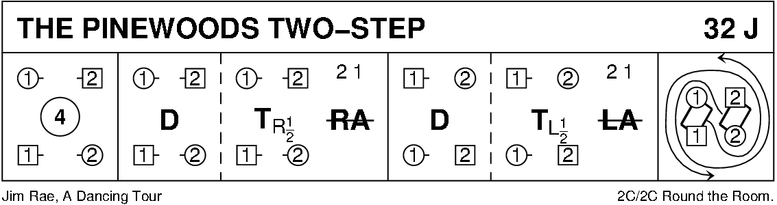 Pinewoods Two Step Keith Rose's Diagram