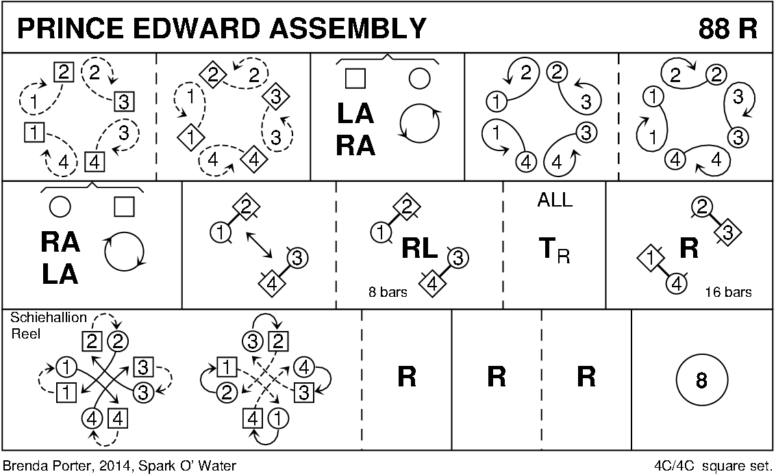 Prince Edward Assembly Keith Rose's Diagram