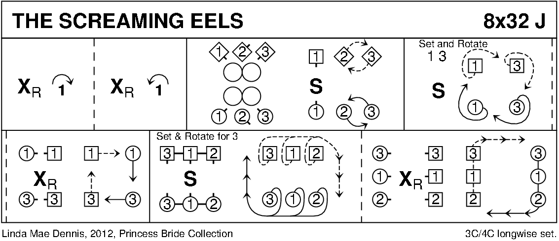 The Screaming Eels Keith Rose's Diagram