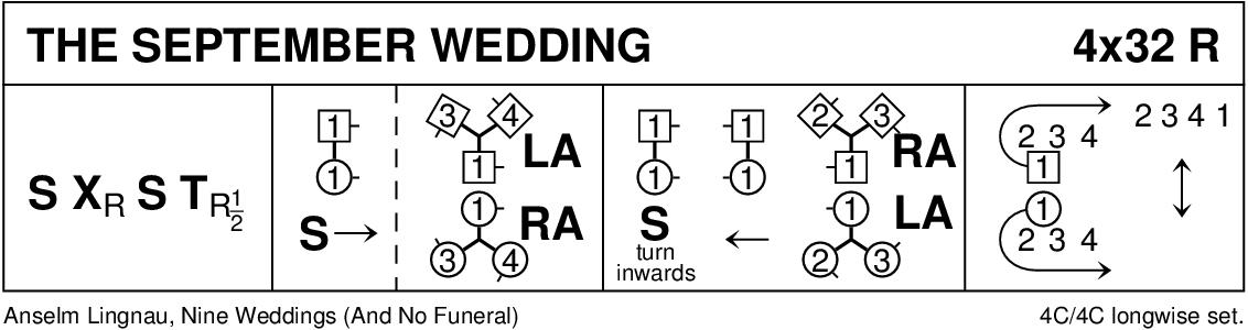 The September Wedding Keith Rose's Diagram