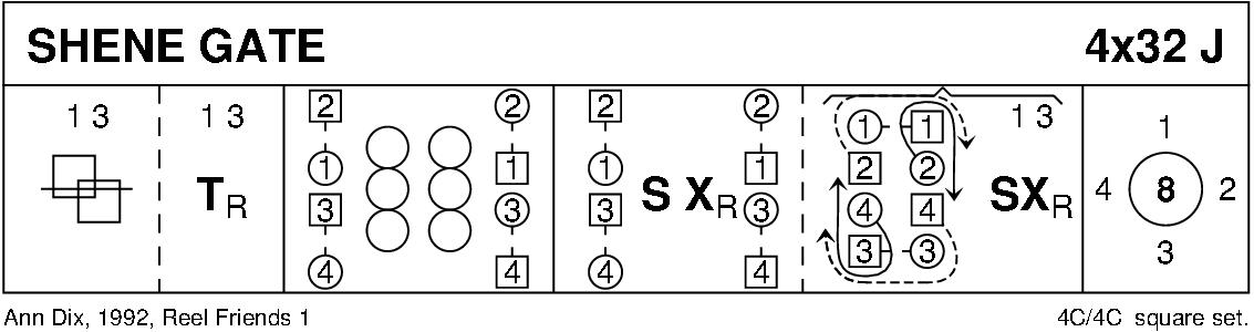 Shene Gate Keith Rose's Diagram