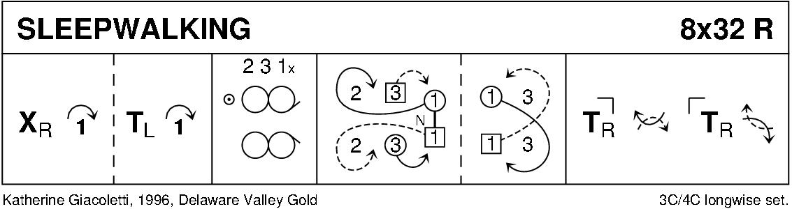 Sleepwalking Keith Rose's Diagram